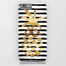Pineapple & Stripes Slim Case iPhone 6s