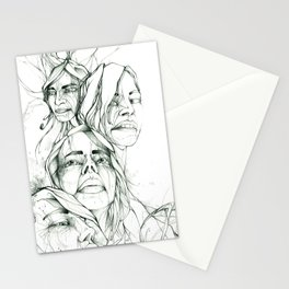 Les Demoiselles Stationery Cards