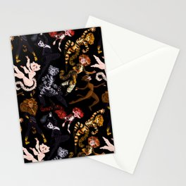 Practical Cats Stationery Cards