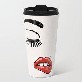 GIRL FACE - EYE - LIPS Travel Mug
