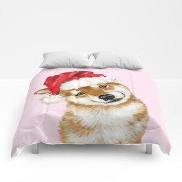 Christmas Shiba Inu Comforters