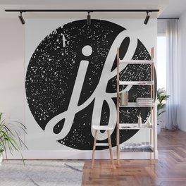 JF Logo Wall Mural