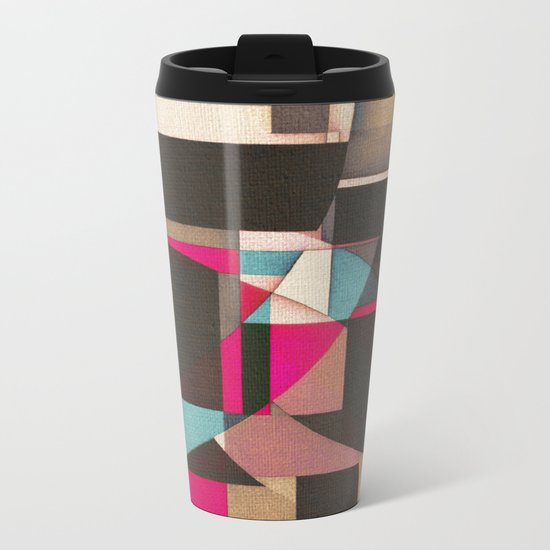 Mooring  in the Port Metal Travel Mug