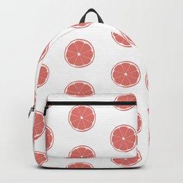 Grapefruit Slice Print and Pattern Backpack