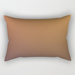 GOLDEN NIGHT - Minimal Plain Soft Mood Color Blend Prints Rectangular Pillow