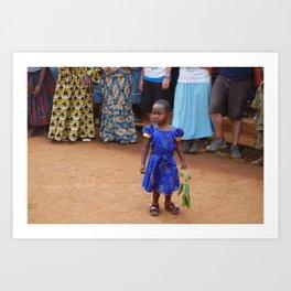 Loitering: Nkuv, Cameroon Art Print