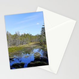 Silent Marshes Stationery Cards