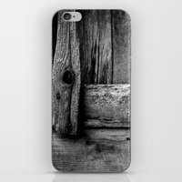 wooden iPhone & iPod Skins featuring wooden by Bonnie Jakobsen-Martin