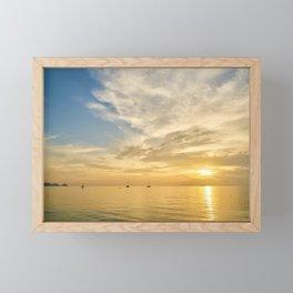Warm Summer Evening Framed Mini Art Print