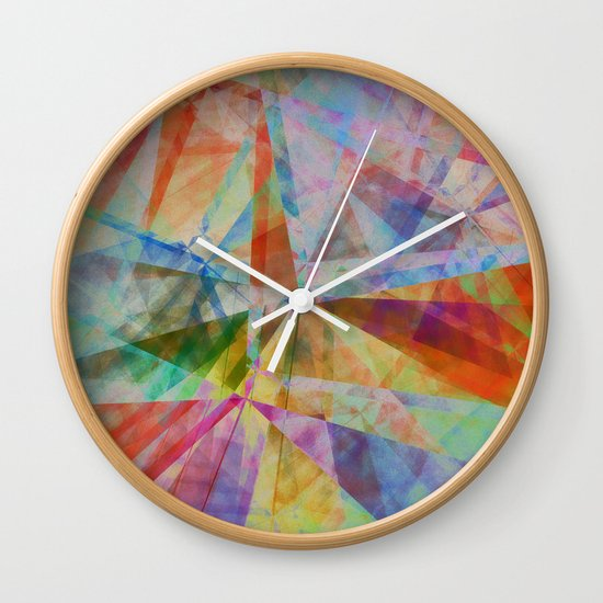 Intersections Wall Clock