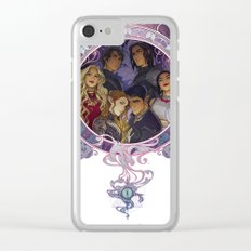 The Inner Circle Clear iPhone Case
