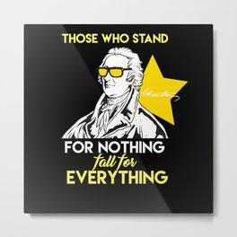 Fall For Everything - Gift Metal Print