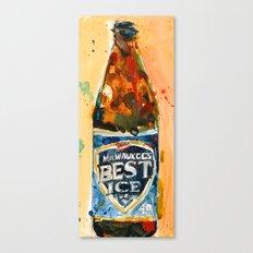Milwaukee Best Ice Beer  - Miller Ice Canvas Print