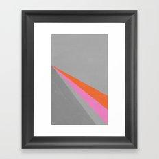 Sun on the wall Framed Art Print