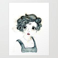 Anxiety. Art Print