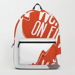 Set the world on fire Backpack