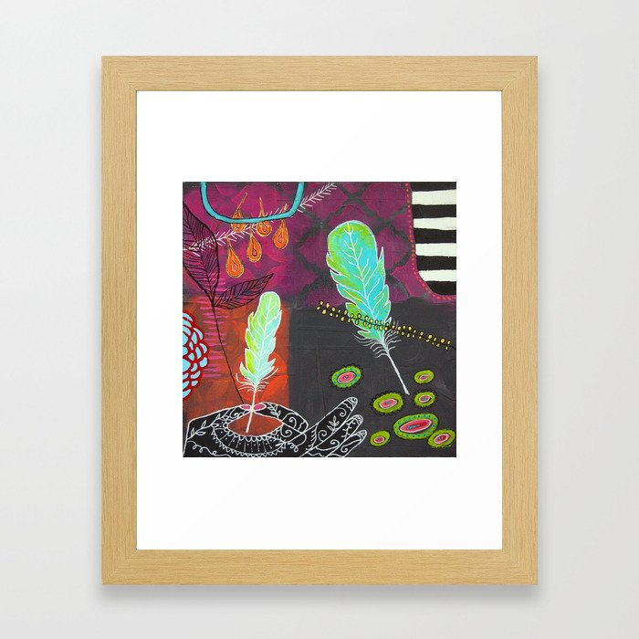 In the Moment Framed Art Print