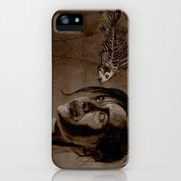 MOMENTO MORI iPhone Case