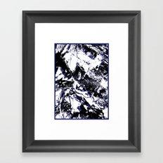 MTHSN_BLUE ID Framed Art Print