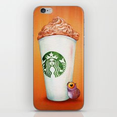 Little Owl loves his Pumpkin Spice Latte iPhone & iPod Skin