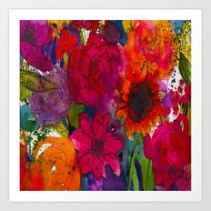Into The Garden Art Print