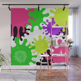 Splatoon Fans Collection - Light Ink Wall Mural