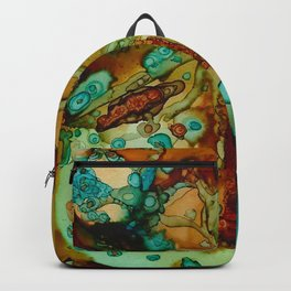 flora beginnings Abstract Backpack