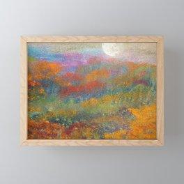 Autum Moon Framed Mini Art Print