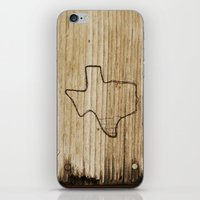 texas iPhone & iPod Skins featuring Texas by Travis Weerts