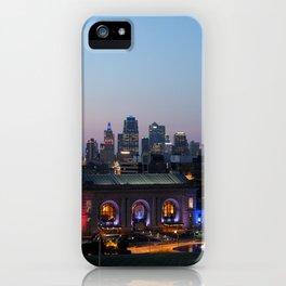 Kansas City Night iPhone Case