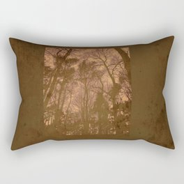 Treeline Vintage Rectangular Pillow