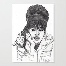 Ronnie Spector 2 Canvas Print