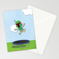 SW Kids - Boba Fett Jump Stationery Cards