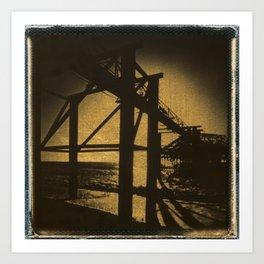 The West Pier Art Print