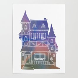 Space Manor Poster
