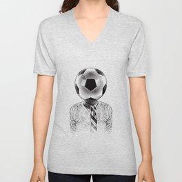 Soccer Fan Unisex V-Neck