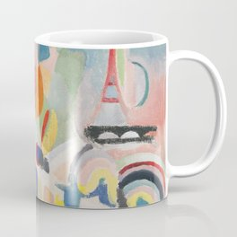 "Robert Delaunay ""Homage to Blériot"" (study) Coffee Mug"