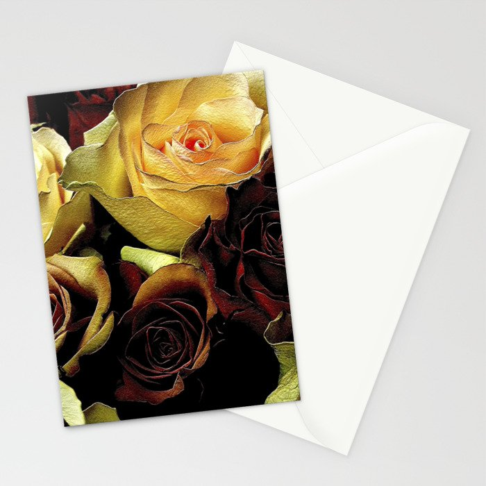LOVE over GOLD Stationery Cards