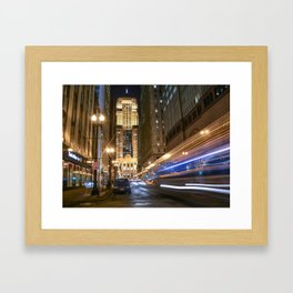 Chicago Board of Trails Framed Art Print
