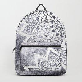 BOHO WHITE NIGHTS MANDALA Backpack