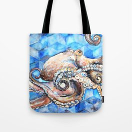 Magna Polypus (Large Octopus) Tote Bag