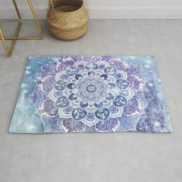 FREE YOUR MIND in Blue Rug