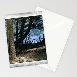 REMNANTS OF A NORTH WIND BY THE LAKE Stationery Cards