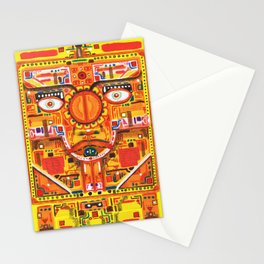 Kan Yellow Seed Stationery Cards
