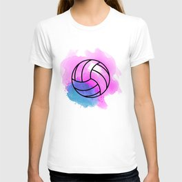 Volleyball Watercolor T-shirt