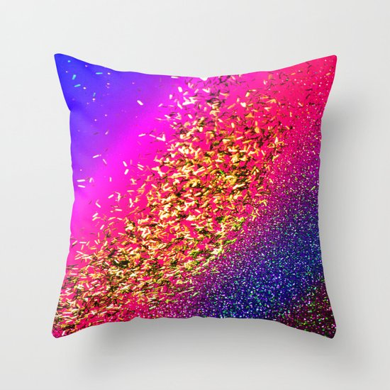 Color My Universe Throw Pillow