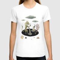 pool T-shirts featuring Shifting Tide Pool by Jon MacNair