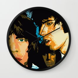 Rolling Stones Rock Album 1976 Wall Clock