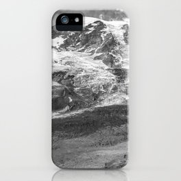 Glaciated Mount Rainier iPhone Case
