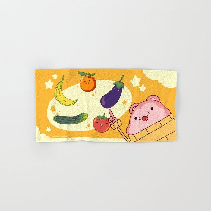 5 Fruits & Vegetables (Peepoodo) Hand & Bath Towel